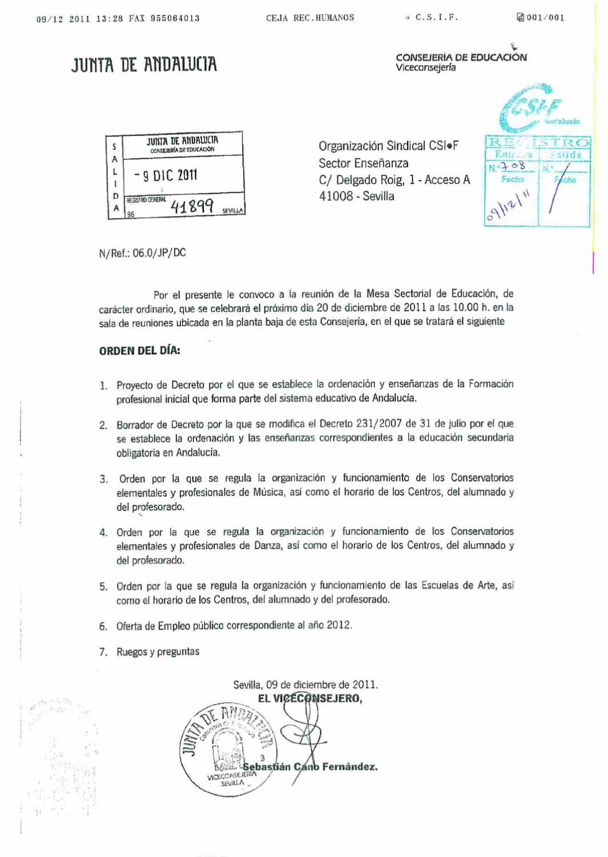 csif convocatoria negociacion plazas oposiciones by csif