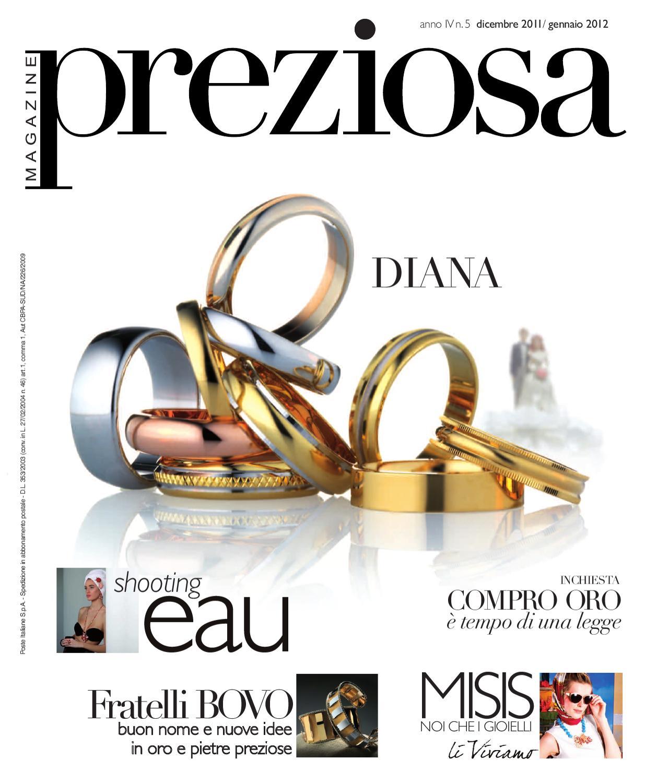 2ef160366b Preziosa, n. 5 (dicembre 2010 / gennaio2011) by GOLDEN AGENCY - issuu