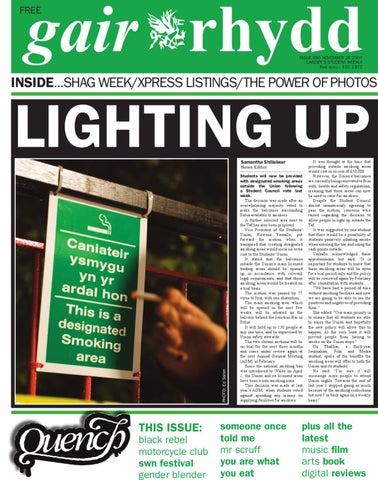 Gair Rhydd Issue 856 By Cardiff Student Media Issuu