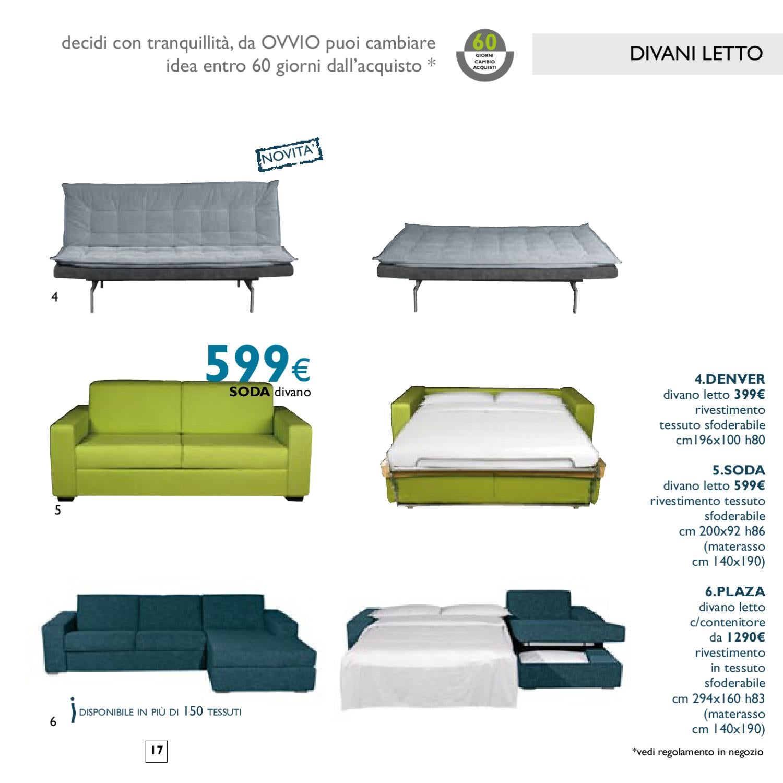Ovvio catalogo 2012 by marco pedrali issuu - Divani letto ovvio ...