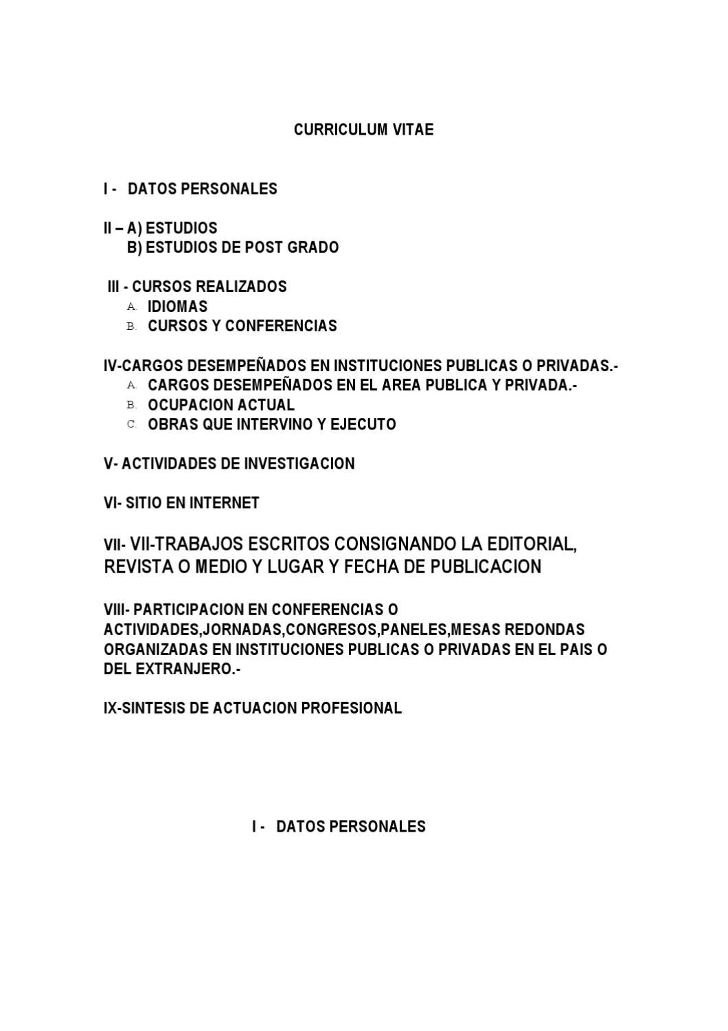 1.1CURRICULUMVITAE prof.ing.BARRETO by oscar barreto - issuu