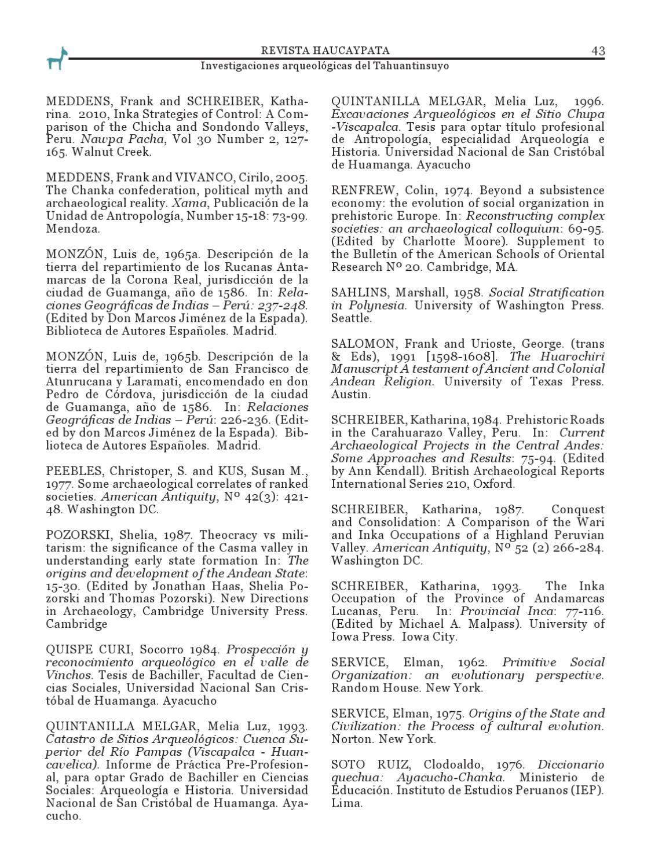 Revista Haucaypata. Nro. 3. 2011 by Revista Haucaypata ...