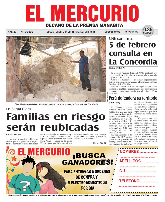 ae0d6680f 13diciembre2011 by Diario El mercurio - issuu