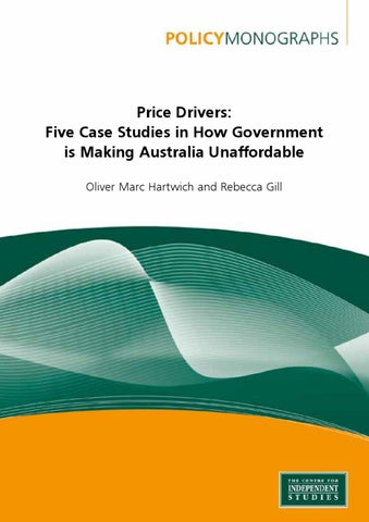 Price Drivers by Oliver Marc Hartwich issuu