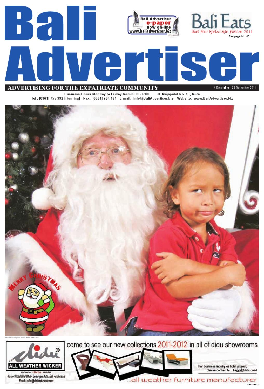 Ba 14 December 2011 By Bali Advertiser Issuu Odyssey Submarine Tanpa Transport Lunch