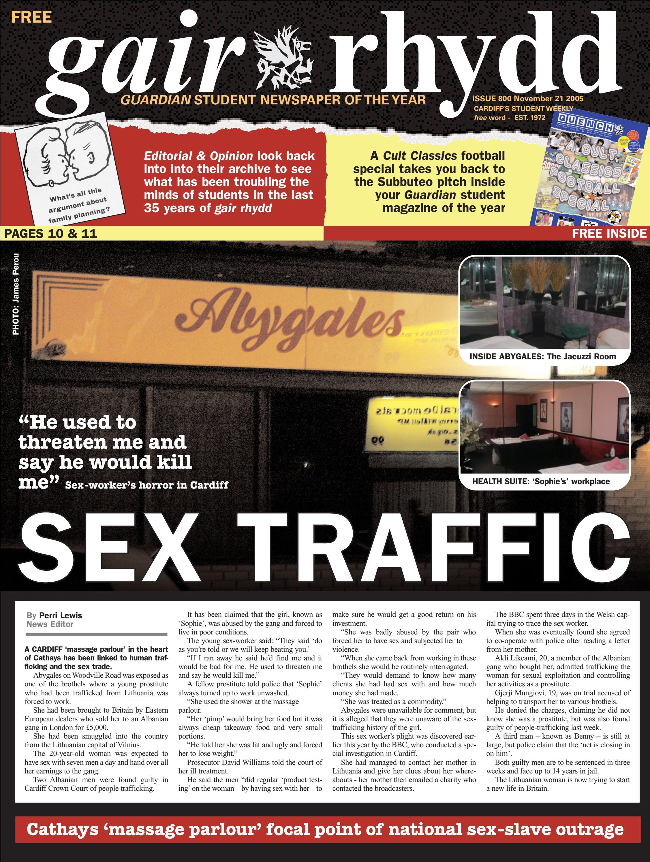 gair rhydd Issue 800 by Cardiff Student Media issuu