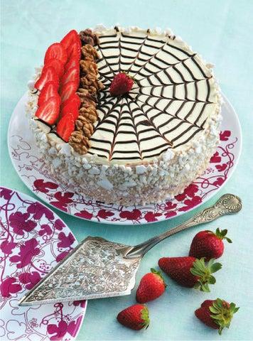Торт паутинка с пошаговыми фото