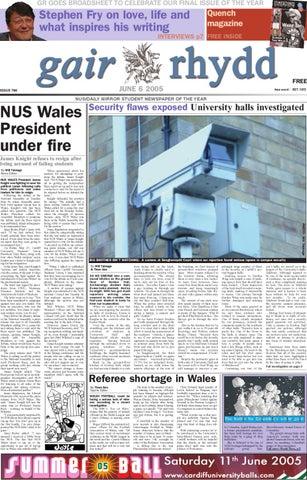 Gair Rhydd Issue 790 By Cardiff Student Media Issuu