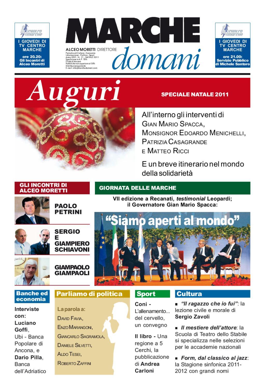Marchedomani11_NATALE2011 by Moretti Comunicazione issuu