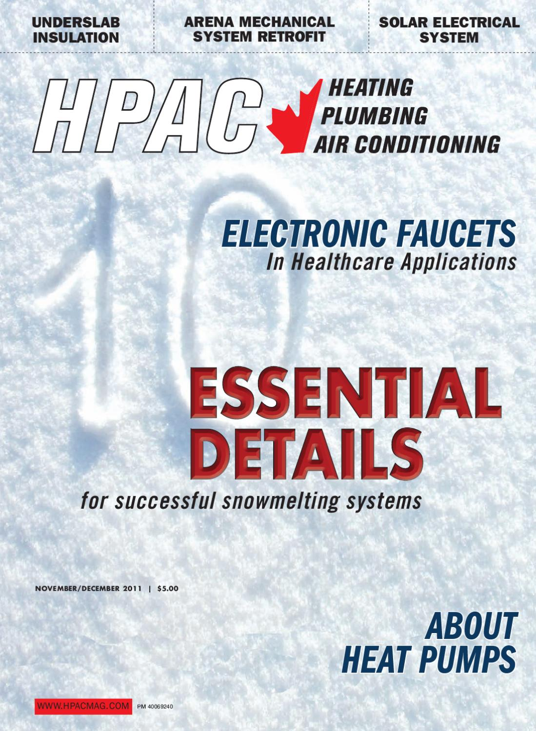 HPAC November/December 2011 by Annex Business Media - issuu