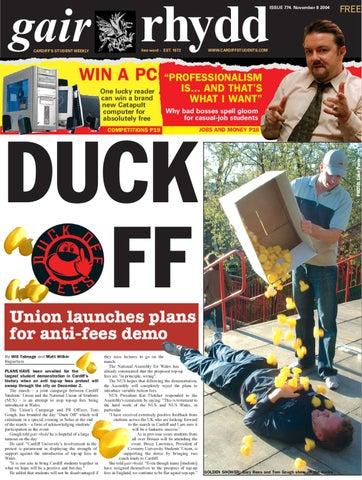 Gair Rhydd Issue 774 By Cardiff Student Media Issuu