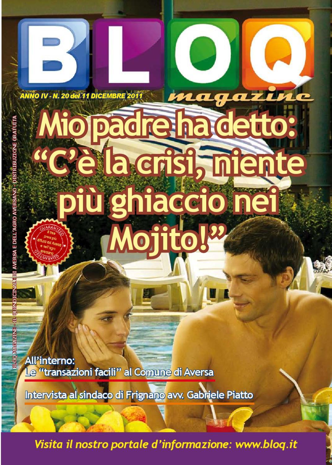 BLOQ MAGAZINE 11 DICEMBRE 2011 By Bloq Magazine Issuu