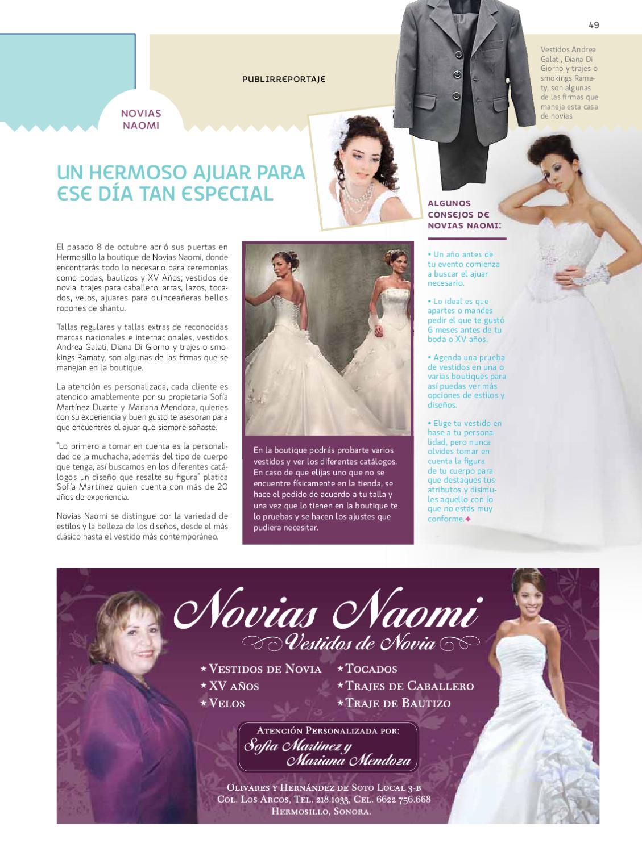 Fantástico Vestidos De Novia De La Revista Novias Componente ...