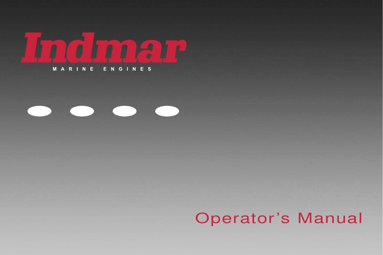 2006 Indmar Operators Manual By Natalie Carrera