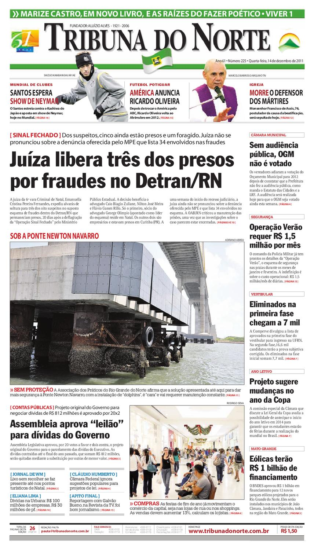 Tribuna do Norte - 14 12 2011 by Empresa Jornalística Tribuna do Norte Ltda  - issuu 190f390b27433