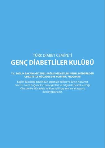 Genc Diabetliler Kulubu Saglik Bakanligi Obezite Ile Mudacele