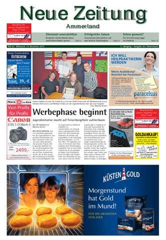 Neue Zeitung Ausgabe Ammerland Kw 50 By Gerhard Verlag Gmbh Issuu