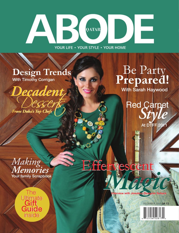 a61f0d180e4 ABODE - December 2011 by ABODE Qatar - issuu