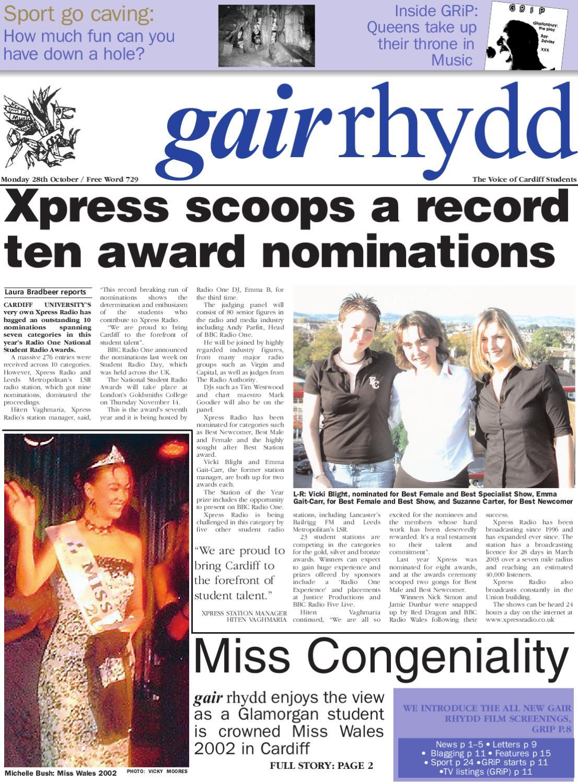 383f8f009283 gair rhydd - Issue 729 by Cardiff Student Media - issuu