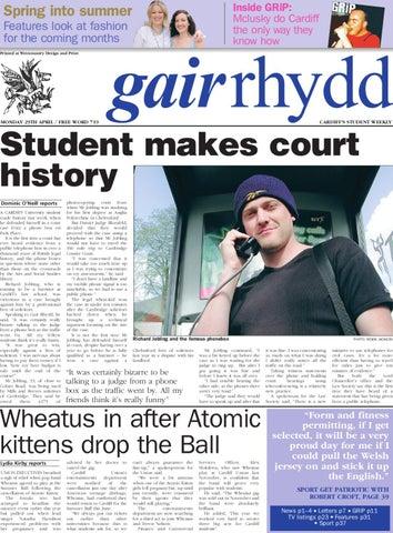 Gair Rhydd 200102 by Cardiff Student Media Issuu