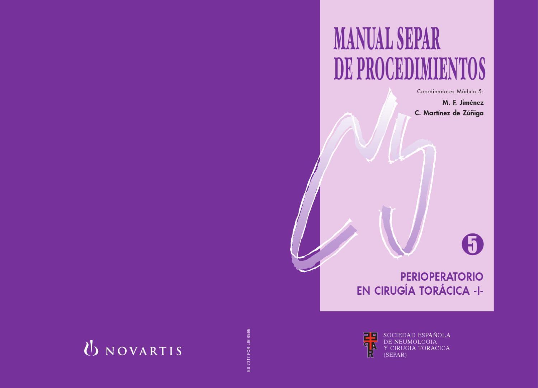 Manual de Procedimientos SEPAR, 5. by SEPAR - issuu