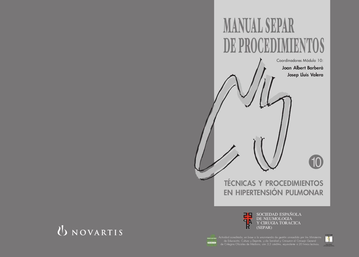 Manual de Procedimientos SEPAR, 10. by SEPAR - issuu