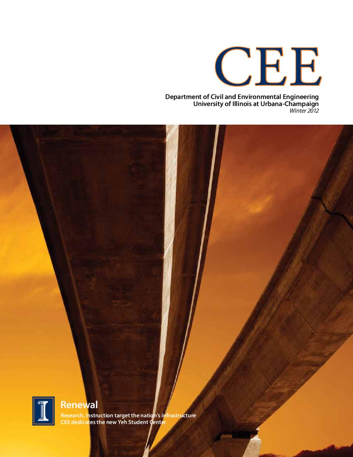 CEE magazine Winter 2012 by Department of Civil and