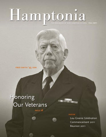 Hamptonia Fall 2011 By New Hampton School Issuu