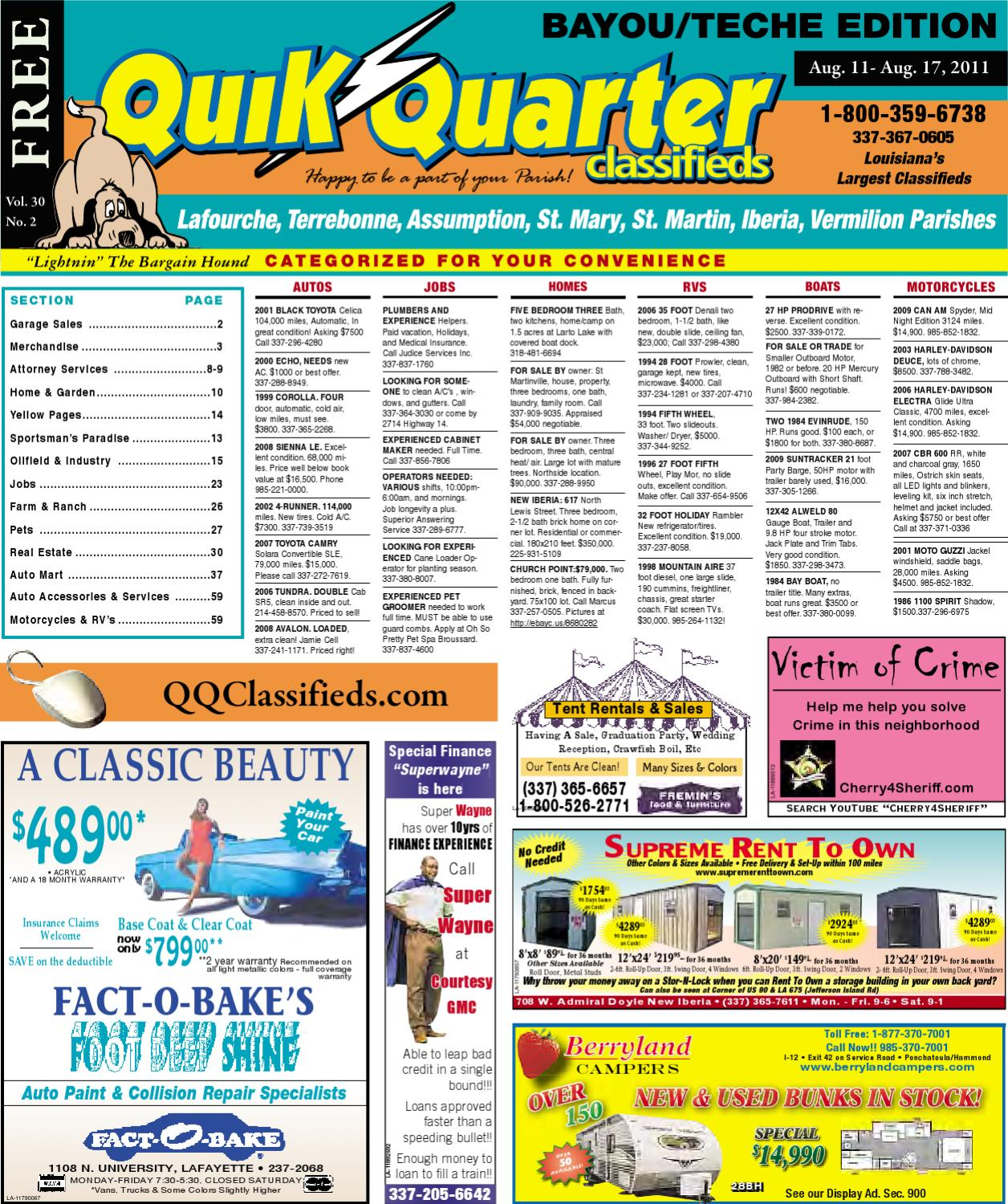 Qq Teche By Part Of The Usa Today Network Issuu Atv Winch Wiring Diagram Besides Polaris Sportsman 700 Parts