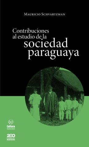 7f63b16bf1 Contribuciones al estudio de la sociedad paraguaya by h2o Amengual ...