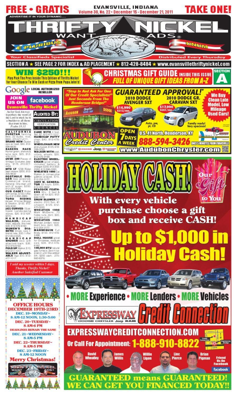 December 15, 2011 Issue by Thrifty Nickel of Evansville