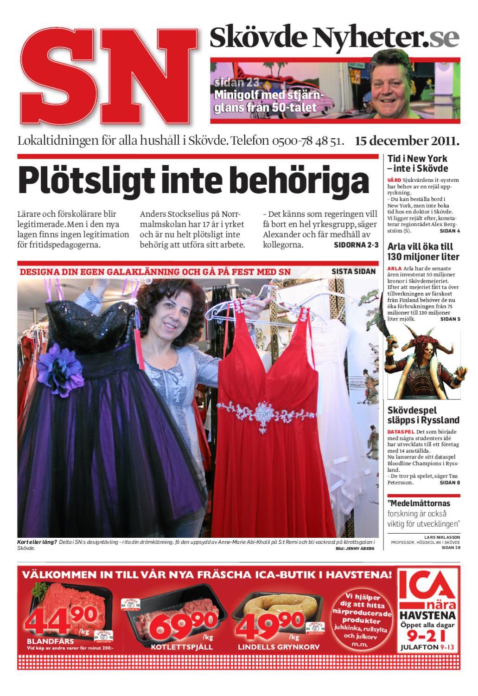 Skövde Nyheter 2011-12-15 by Skövde Nyheter - issuu b28ba51d5a9fd