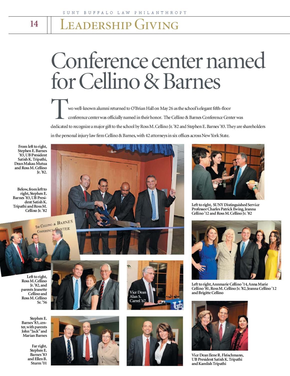 suny barns of buffalo docs university law page by issuu barnes school philanthropy ublaw cellino at