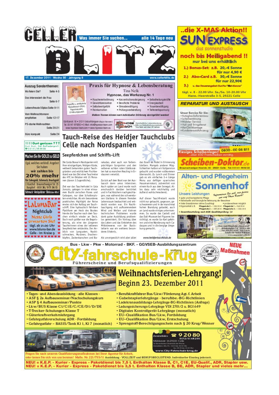 Celler Blitz 50KW by Media Verlag Celle GmbH & Co. KG - issuu