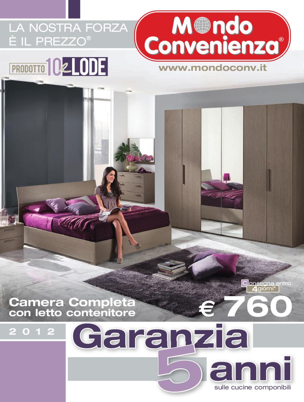 Generale 2012 by marco paulich issuu - Camera completa mondo convenienza ...