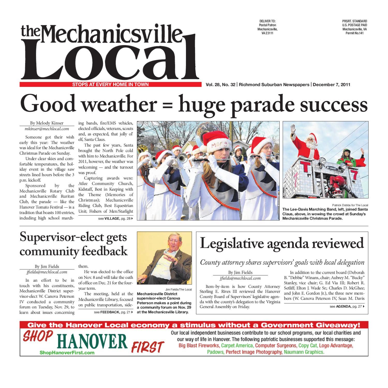 f2b2f547 12/07/2011 by The Mechanicsville Local - issuu