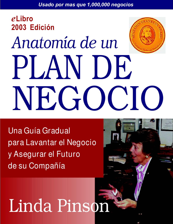 Anatomia de un Plan de Negocios by alejandro cuadros - issuu