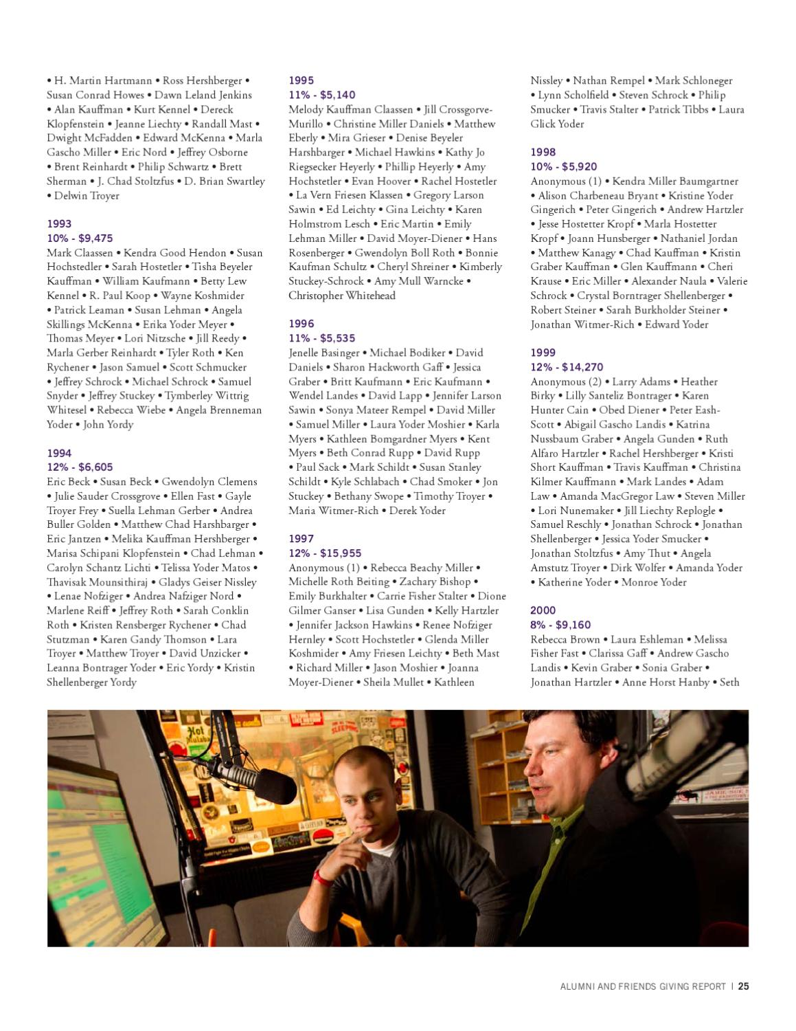 GC Annual Report 2010-2011 by Goshen College - issuu