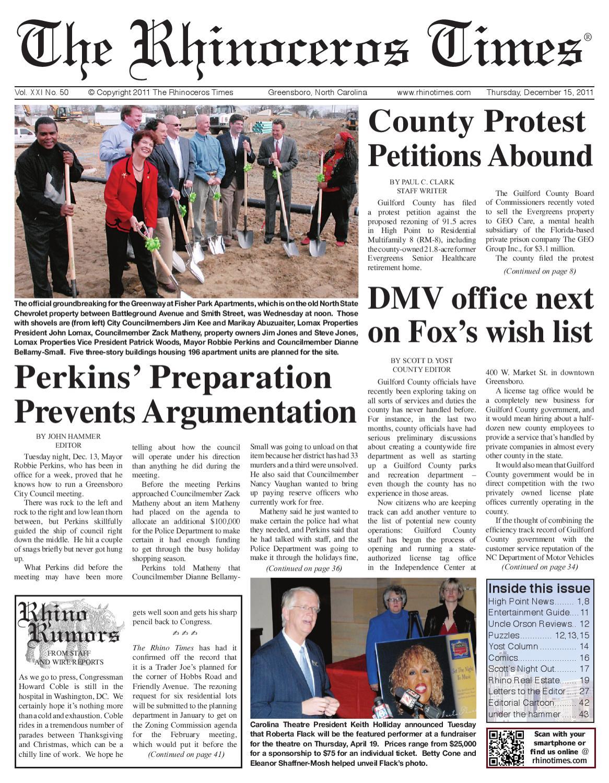 Rhino Times Dec 15, 2011