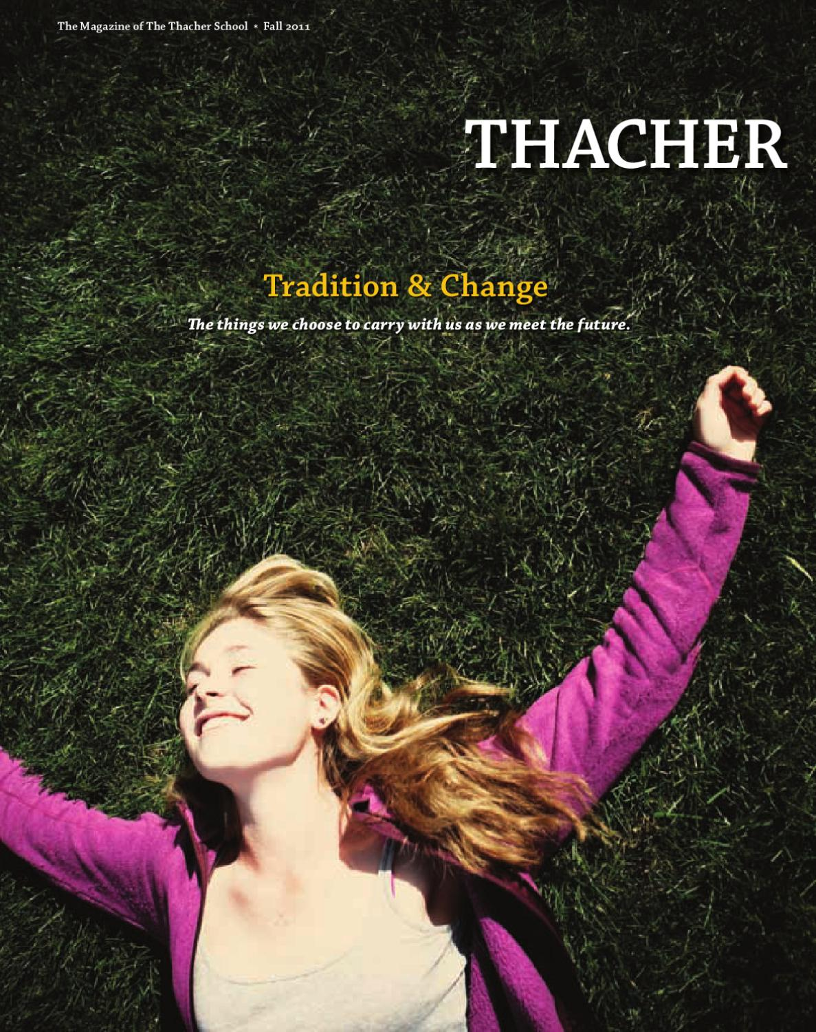 Thacher Magazine: Fall 2011