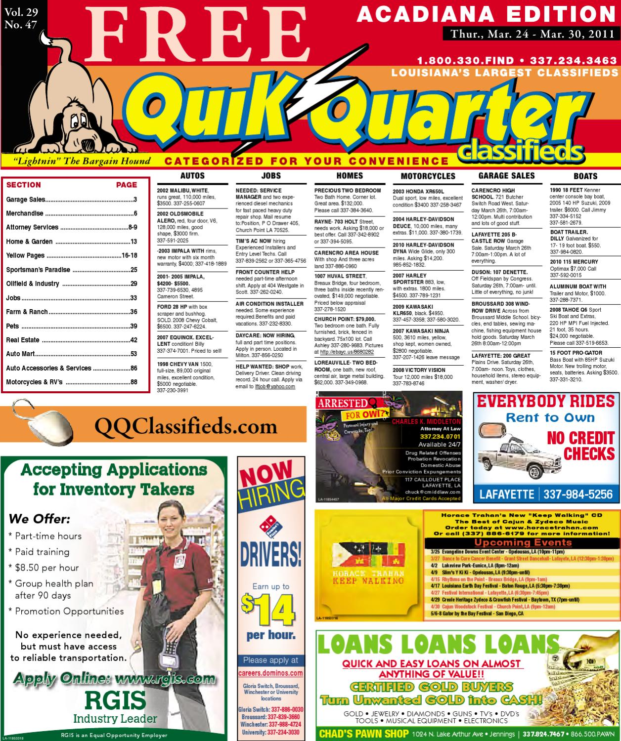 13ed77db QQ Acadiana by Part of the USA TODAY NETWORK - issuu