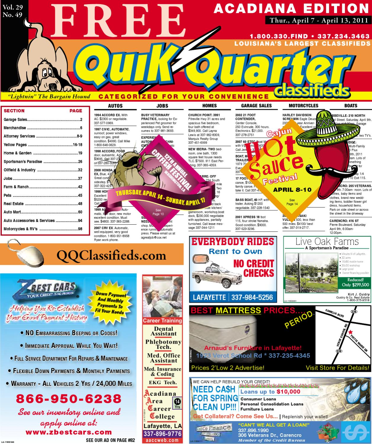 Qq Acadiana By Part Of The Usa Today Network Issuu Oldsmobile Alero Sunpro Gauges Wiring Diagram