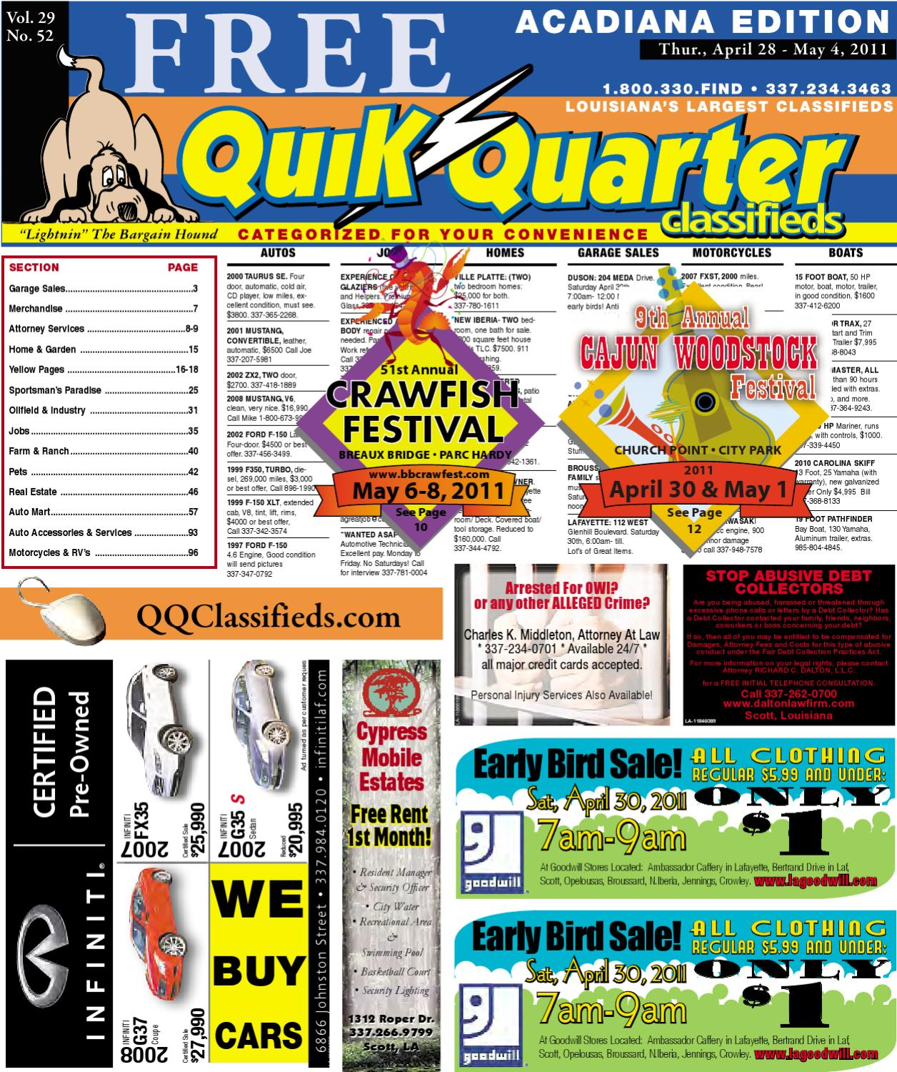 Qq Acadiana By Part Of The Usa Today Network Issuu Rtd Circuits K Type Thermocouple Sensor Plugs Adapter Walmart