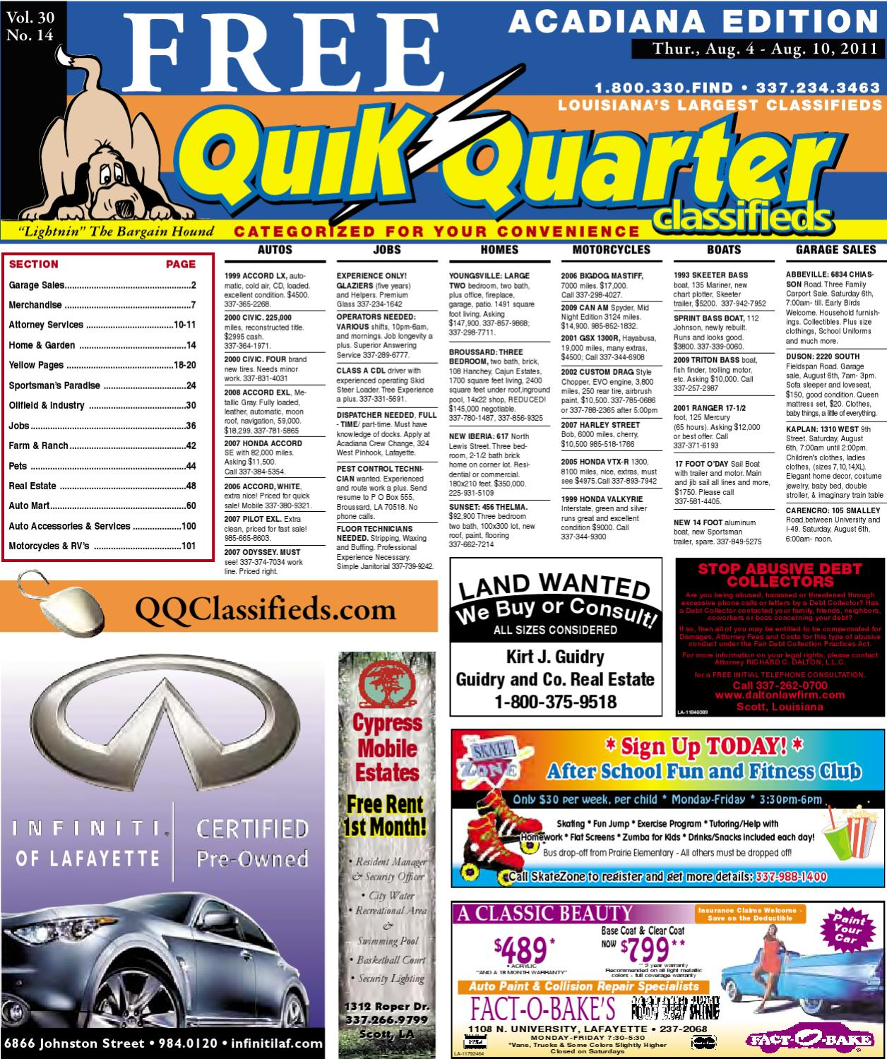 Qq Acadiana By Part Of The Usa Today Network Issuu Atv Winch Wiring Diagram Besides Polaris Sportsman 700 Parts