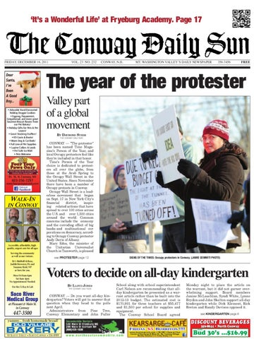 The Conway Daily Sun Friday December 16 2011 By Daily Sun Issuu