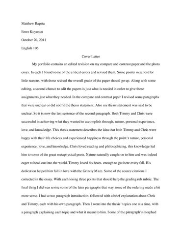 Cover Letter By Matthew Rapata Issuu