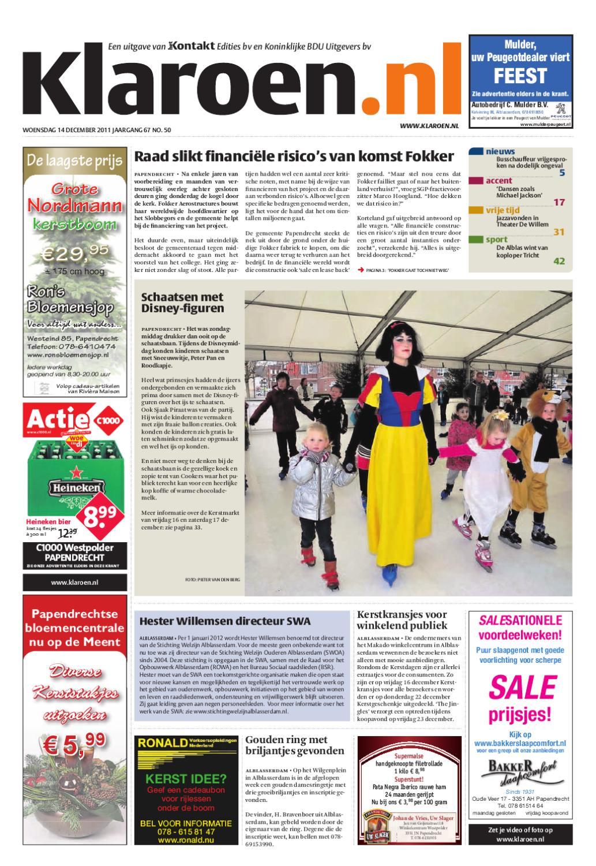 21f4148db60 Klaroen 14-12-2011 by BDUmedia - issuu