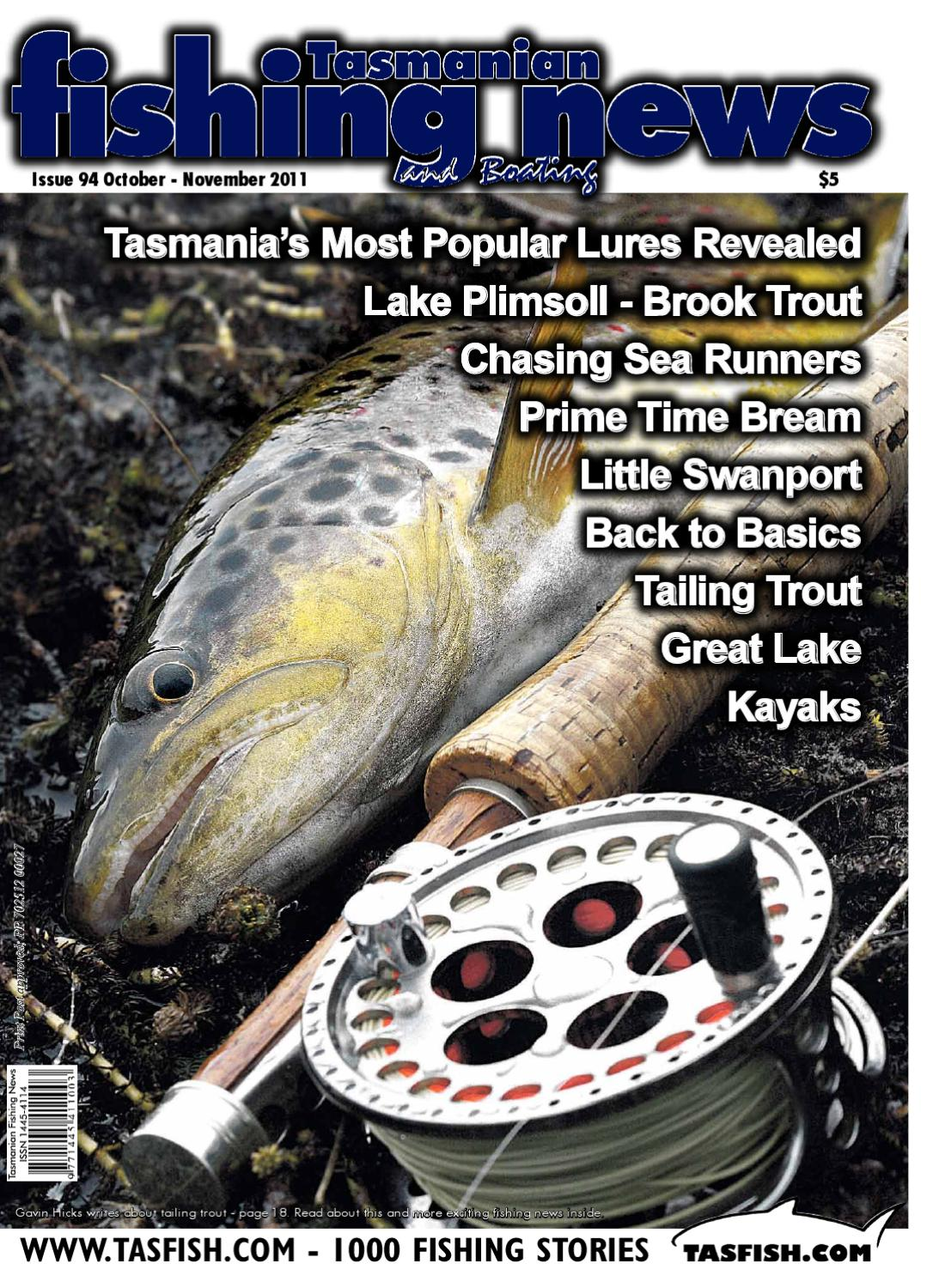 Tasmanian Fishing and Boating News Issue 094 2011 October by