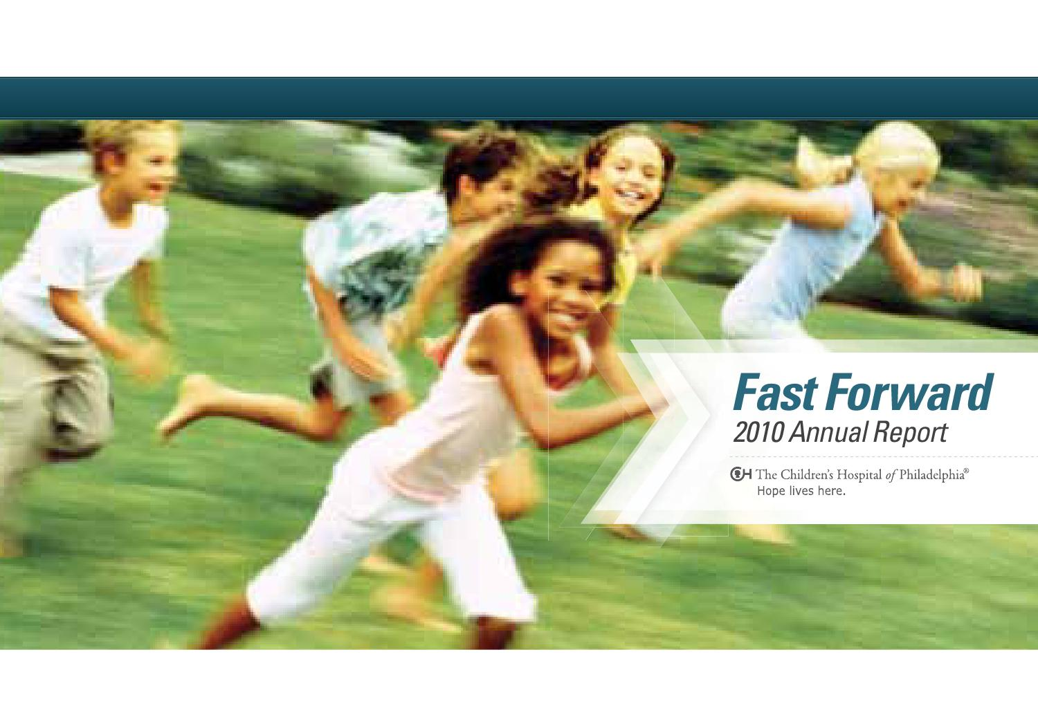 2010 Annual Report by The Children's Hospital of