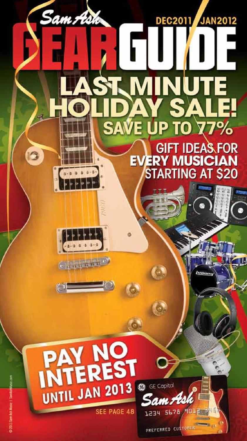 Sam Ash Holiday Gear Guide By Music Corp Issuu Free Download Af75 Wiring Diagram
